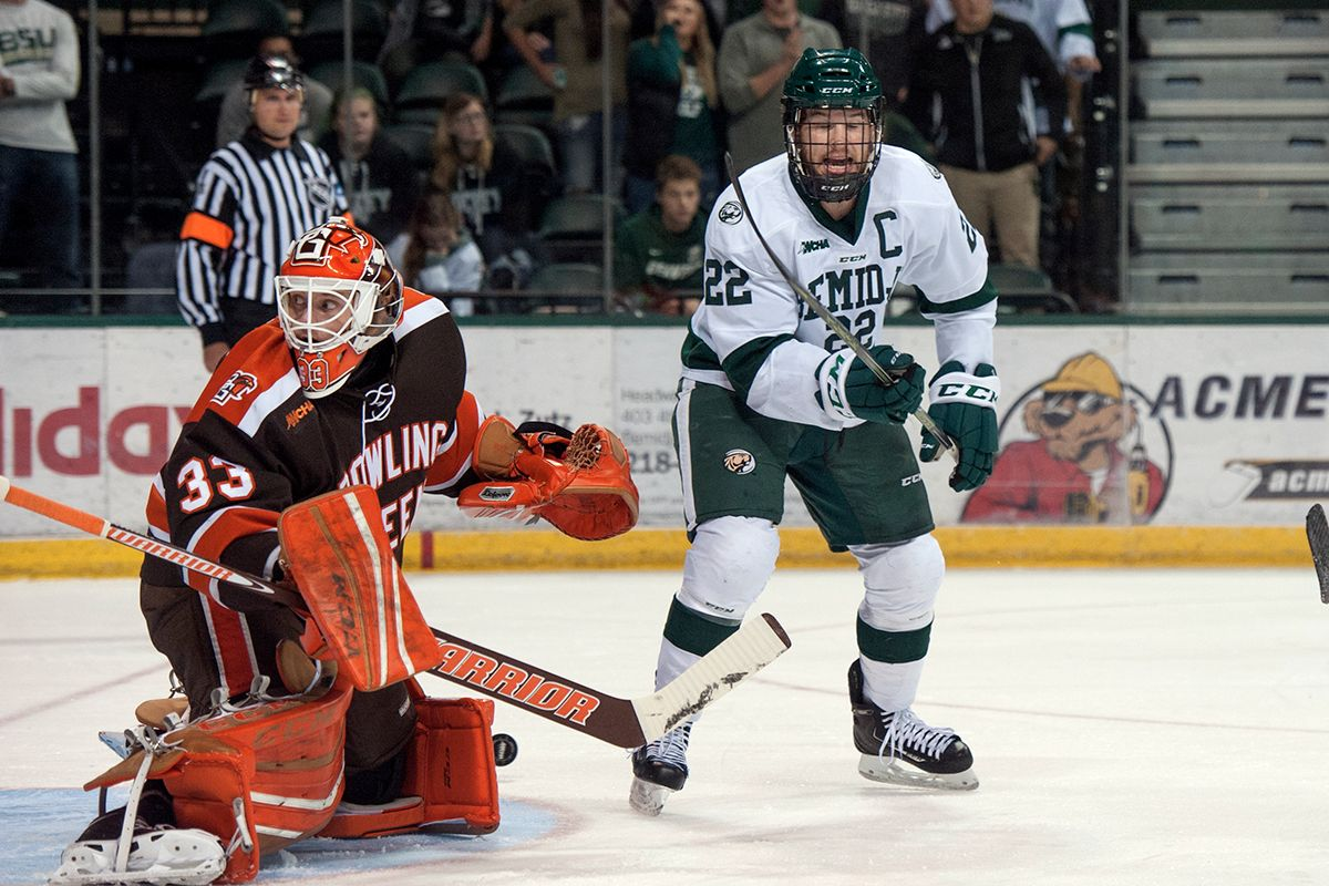 Bemidji State uses strong third period to defeat No. 15 Bowling Green
