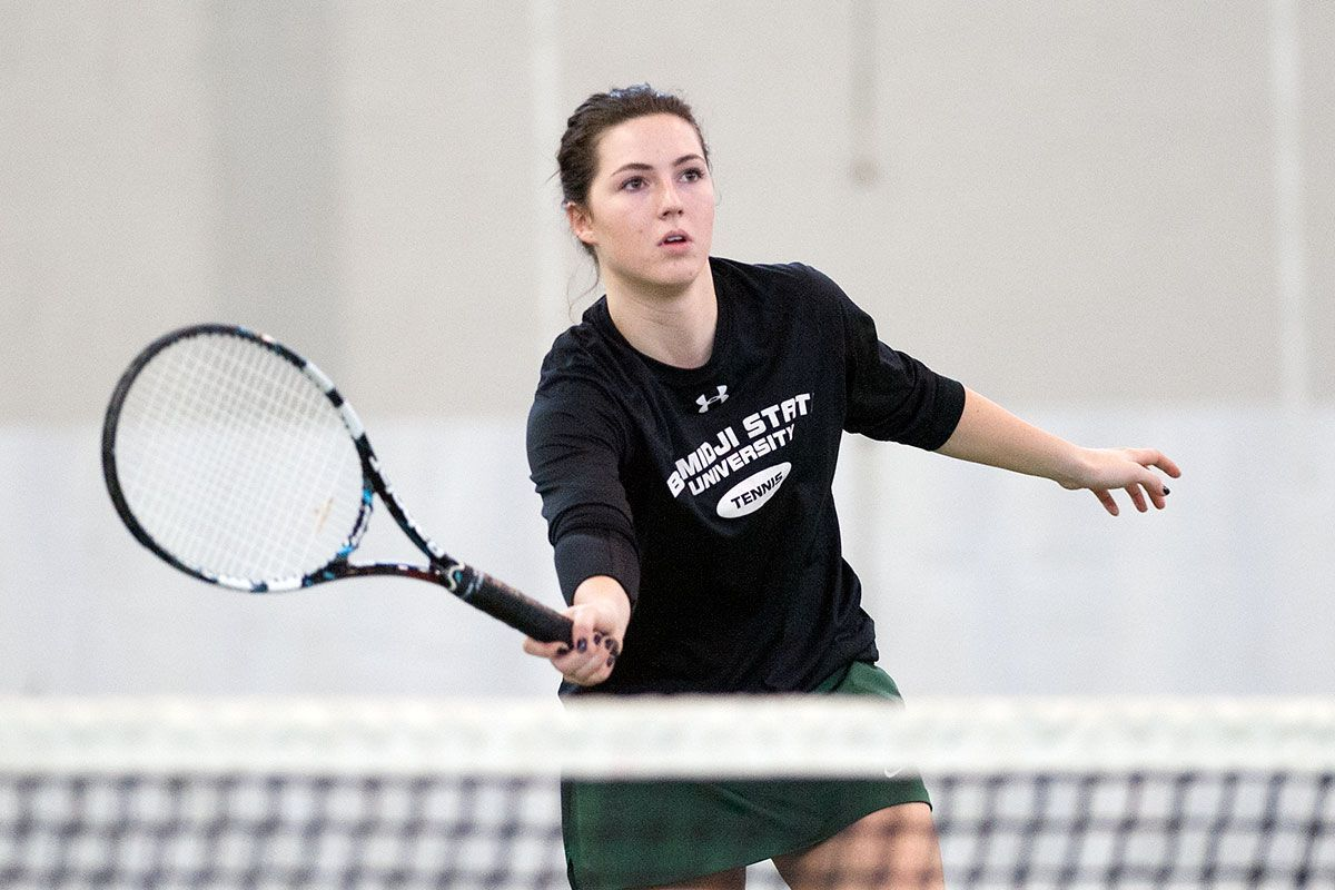 Bemidji State's Opp earns spot on 2016 All-NSIC Tennis Team