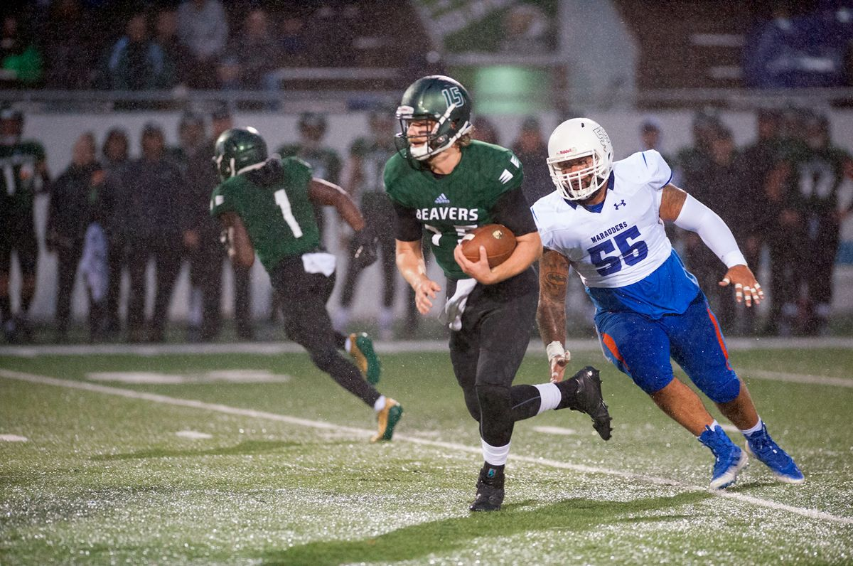 Beavers shine in rainy conditions to secure 52-7 home-opening victory