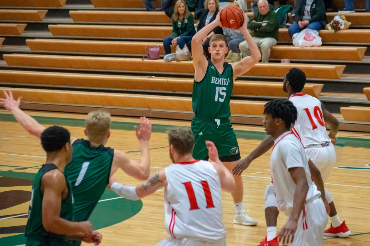 Men's Basketball force overtime before falling to Minot State, 79-76