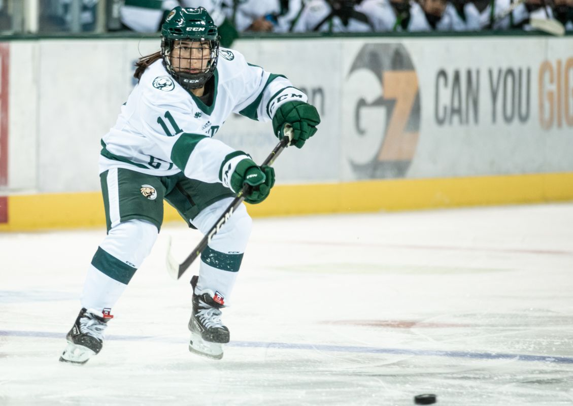 Women's Hockey stymied in season-opening loss to Lindenwood