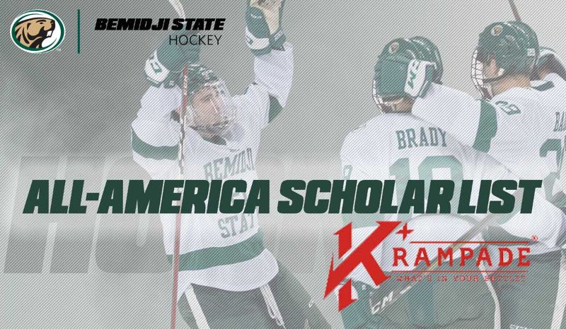 Bemidji State Hockey has 23 named to all-America scholar list