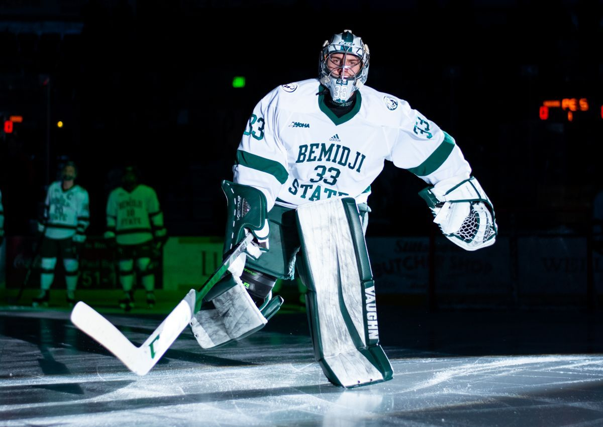 Driscoll backstops Bemidji State to 4-0 victory at Alaska
