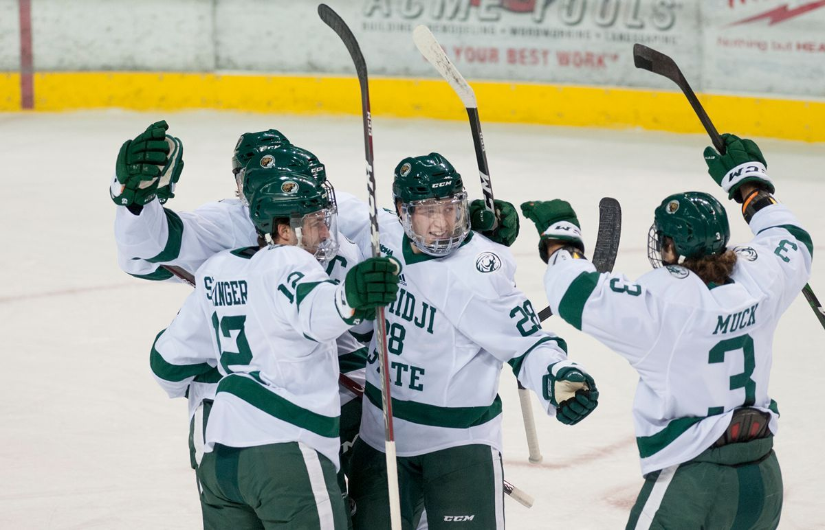 Adams nets two to lead Bemidji State to victory over Alabama-Huntsville