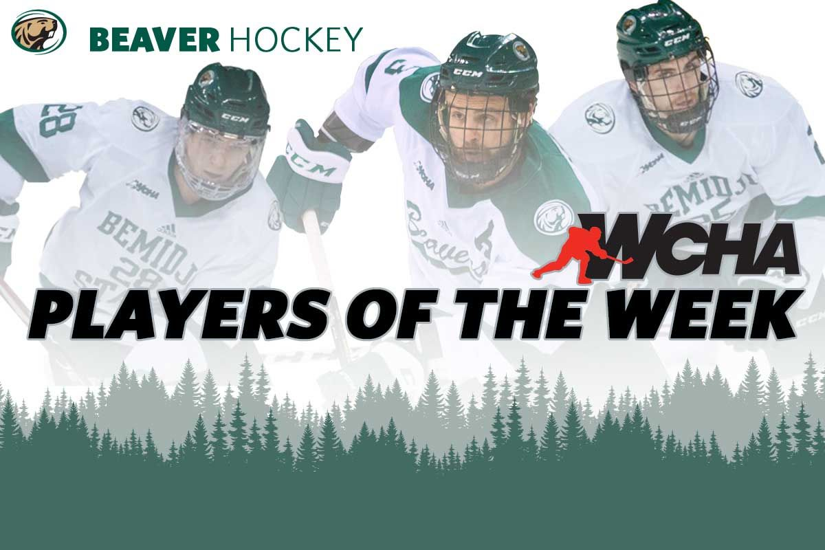 WCHA honors Adams, Muck and Rosén with weekly awards