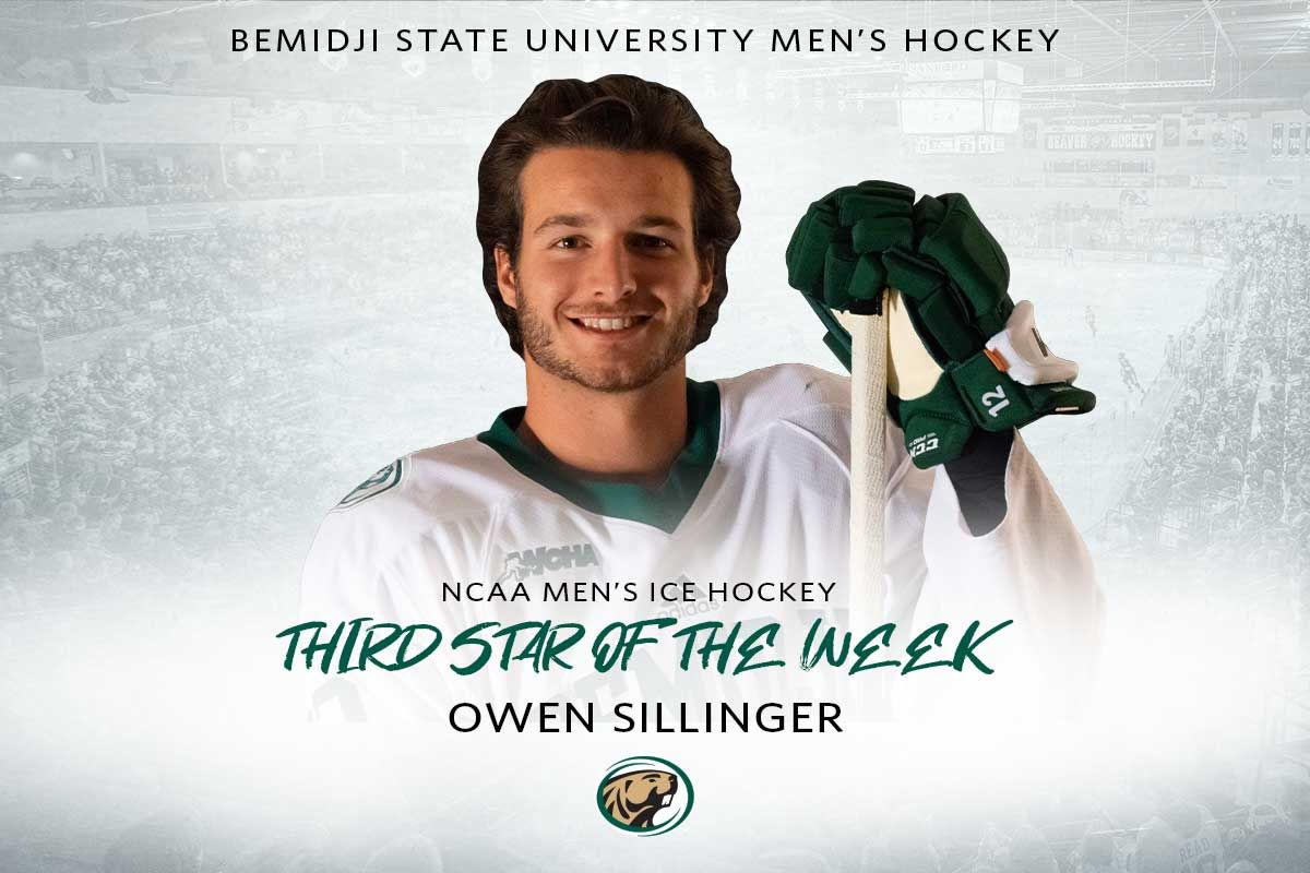 Sillinger selected as NCAA Third Star of the Week