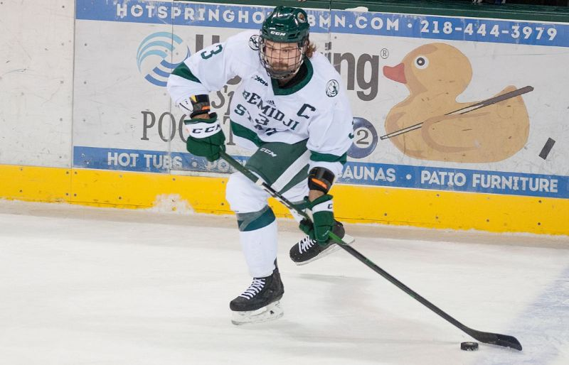 Kansas City Mavericks ink former Bemidji State defender Tommy Muck