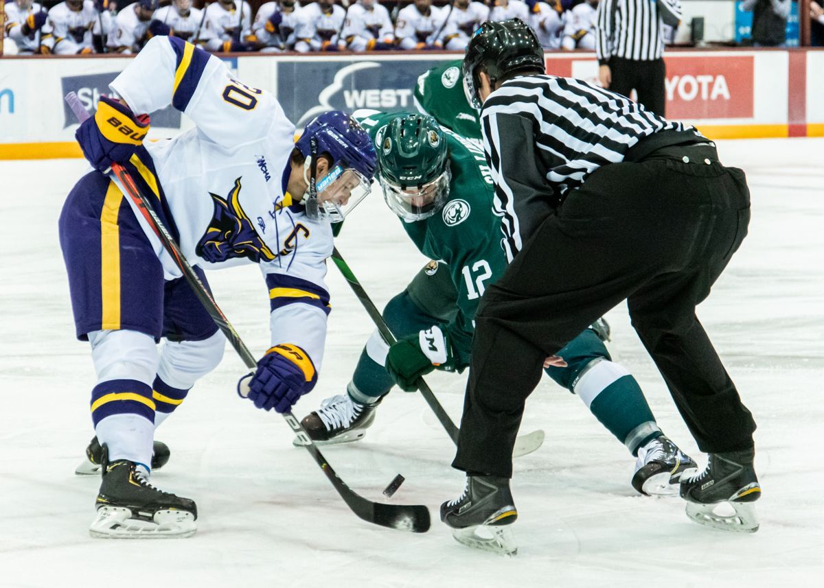 WCHA's top teams set for a clash in Mankato this weekend
