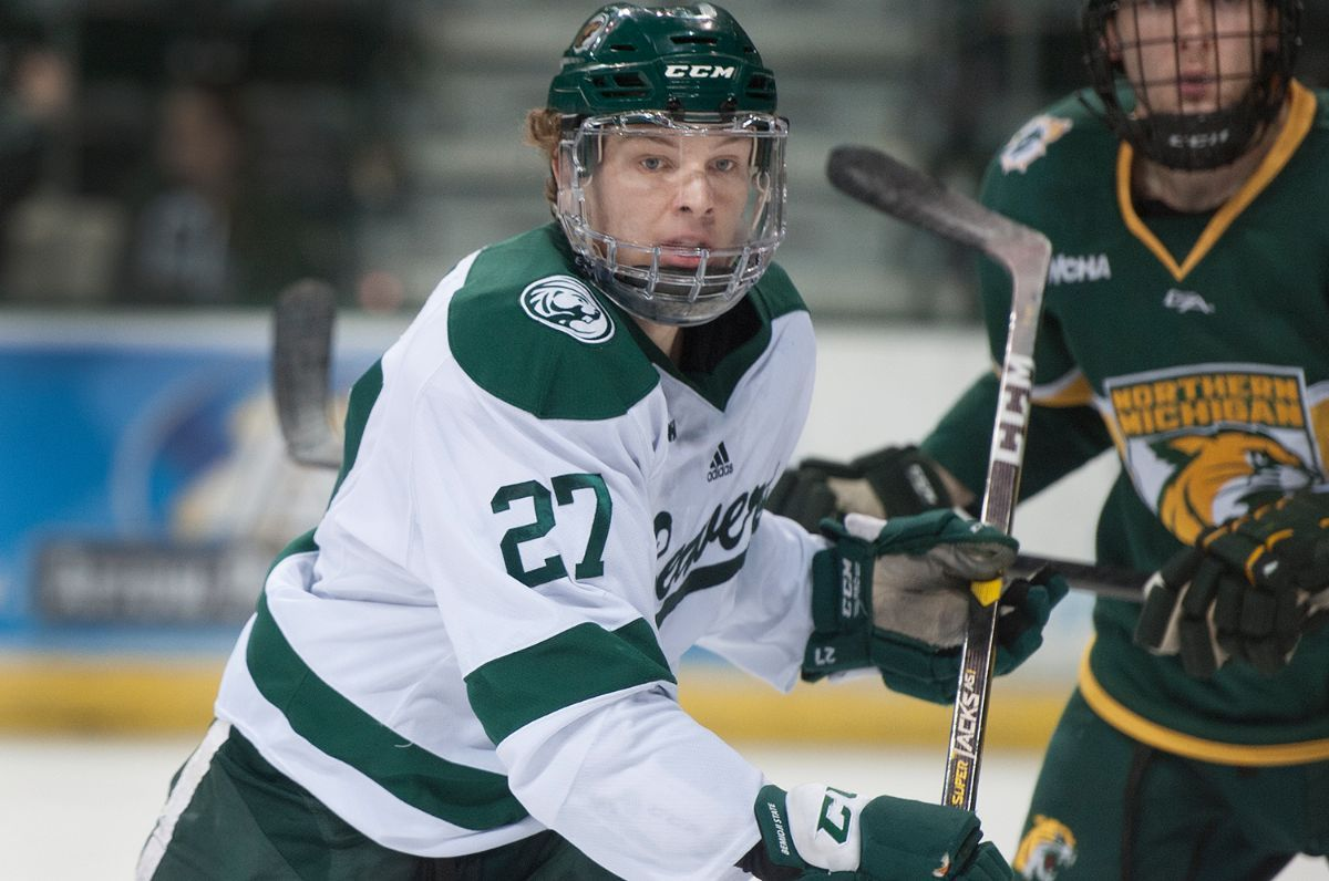 Bemidji State travels to Northern Michigan for WCHA series with postseason implications
