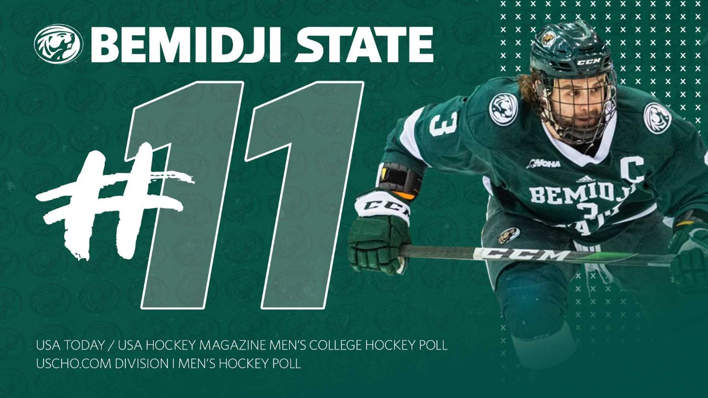 Bemidji State inches up to No. 11 in national polls