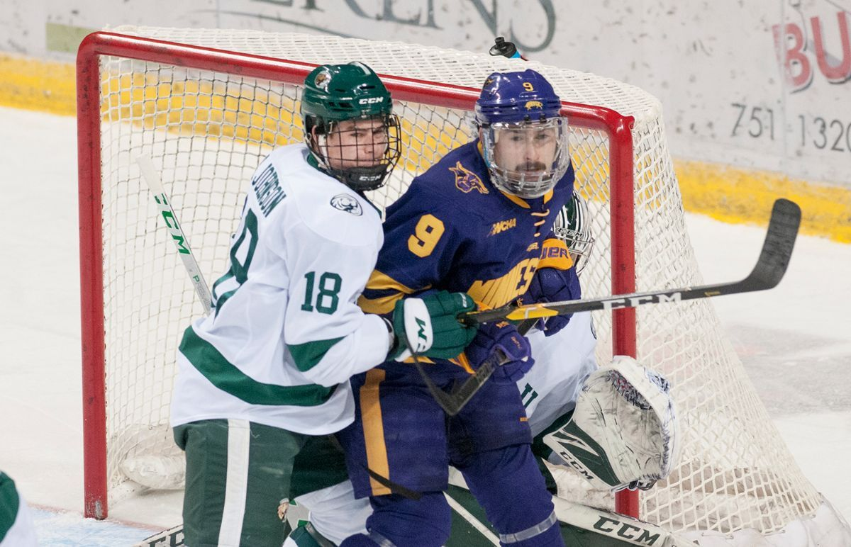 Beavers and Mavericks square off for WCHA title