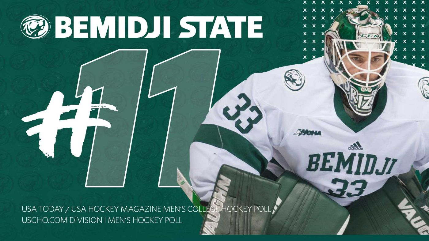 Bemidji State drops one spot to 11 in national polls