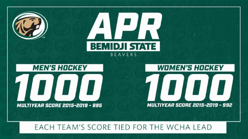 Bemidji State hockey programs remain in good academic standing with NCAA