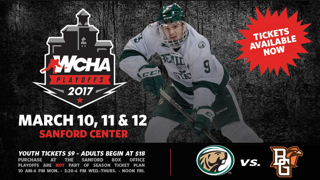Tickets on sale now for Bemidji State's WCHA semifinal series