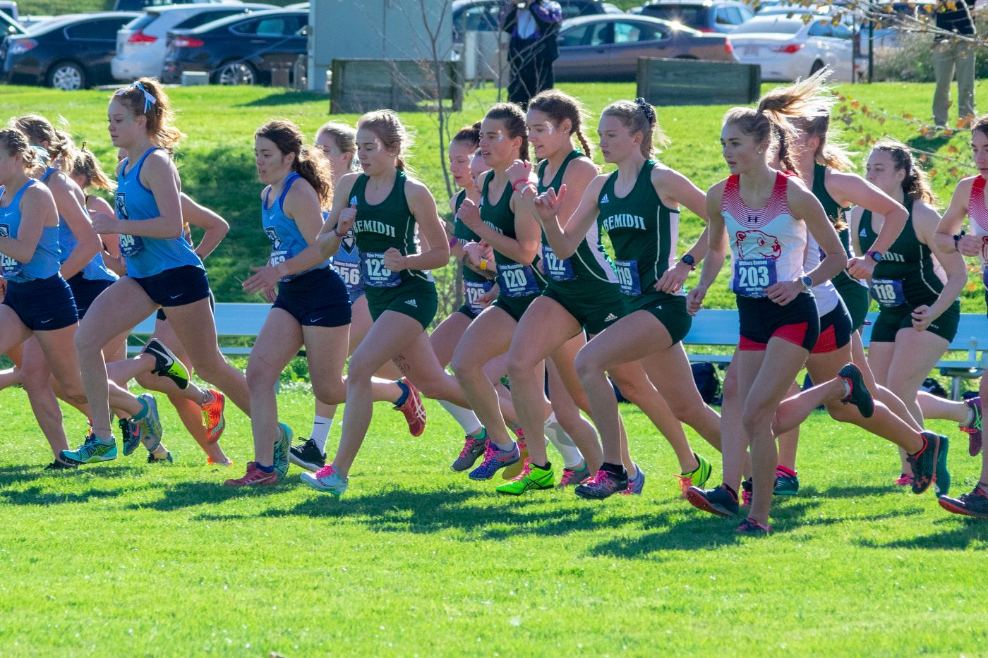 Pair of freshmen set personal records as Beavers complete NSIC Championship