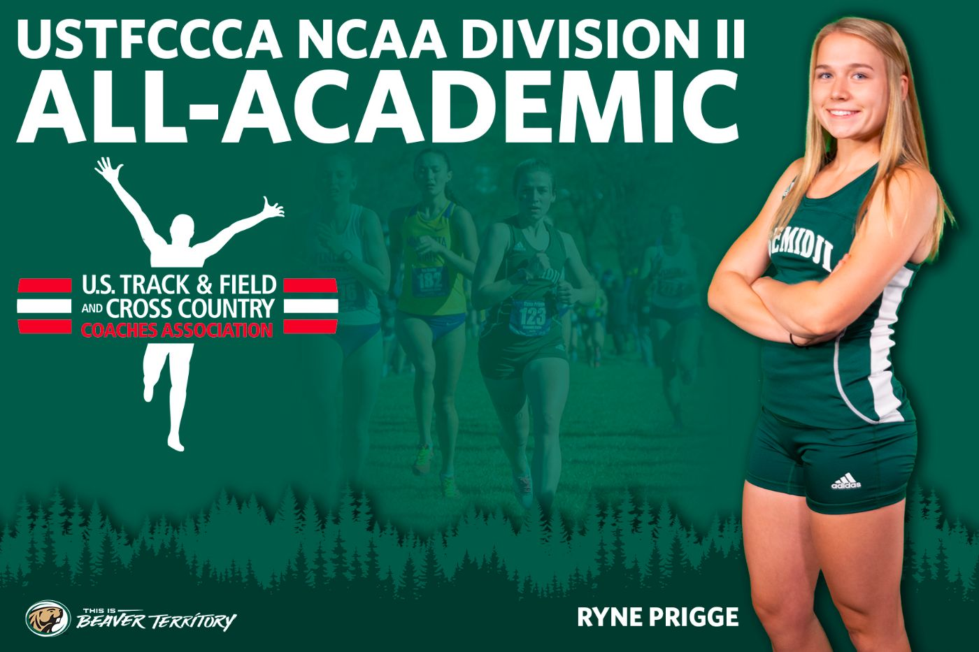 Prigge and Beaver Cross Country earn USTFCCCA All-Academic distinction