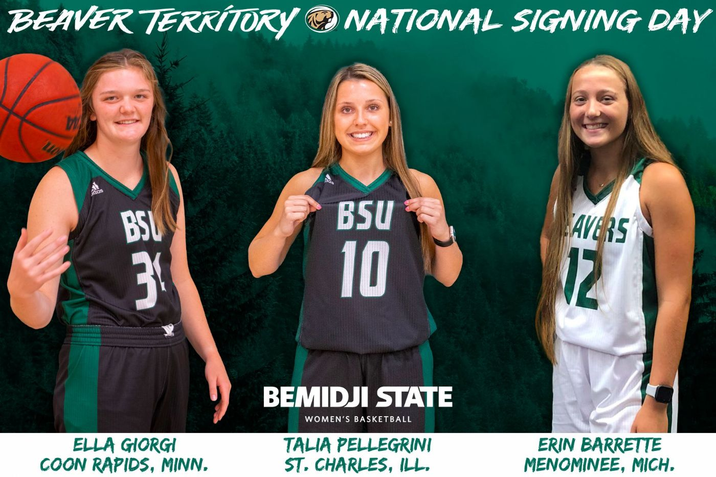 2021-22 Beaver Women's Basketball signing class totals three