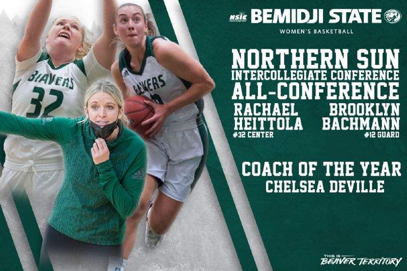 DeVille named NSIC Coach of the Year; Bachmann, Heittola earn All-NSIC