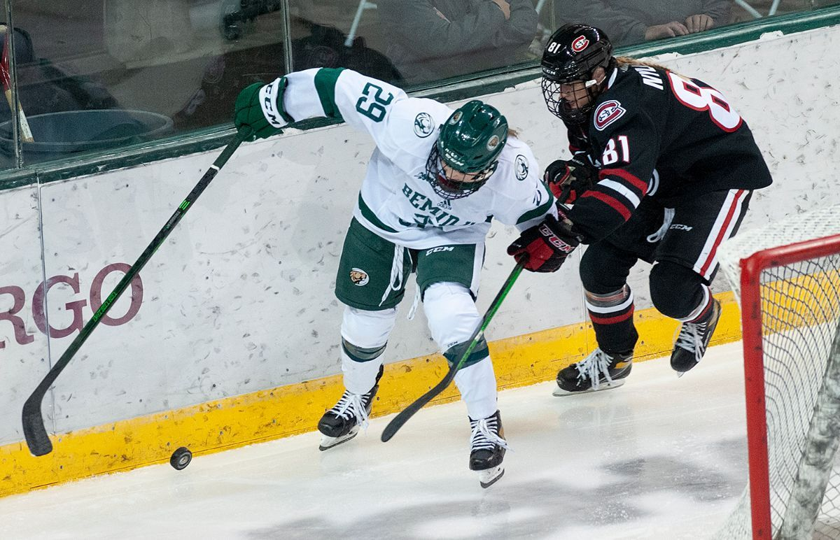 Women's Hockey opens 2021-22 season with exhibition at St. Cloud State