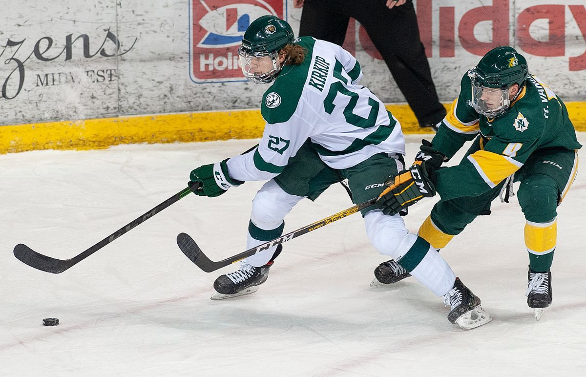 Beavers drop Lakers in overtime, 2-1