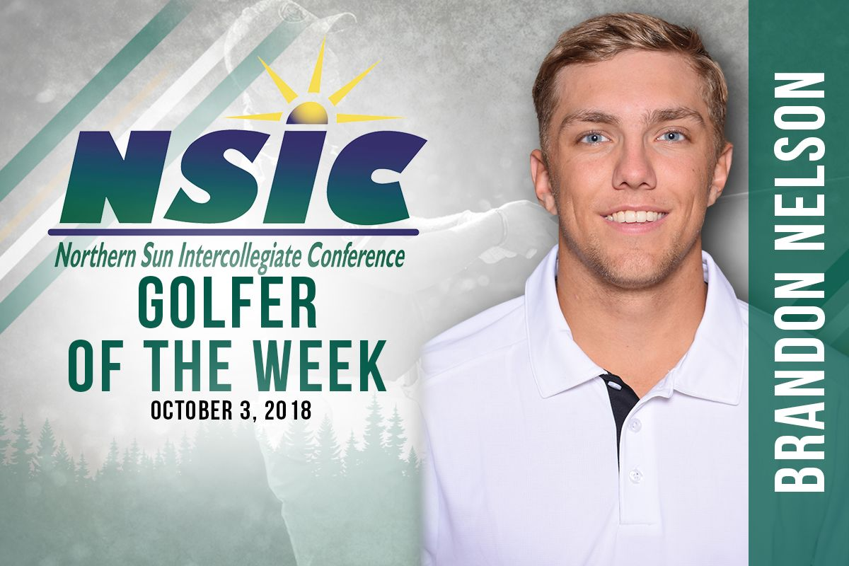 Nelson selected as NSIC Men's Golfer of the Week