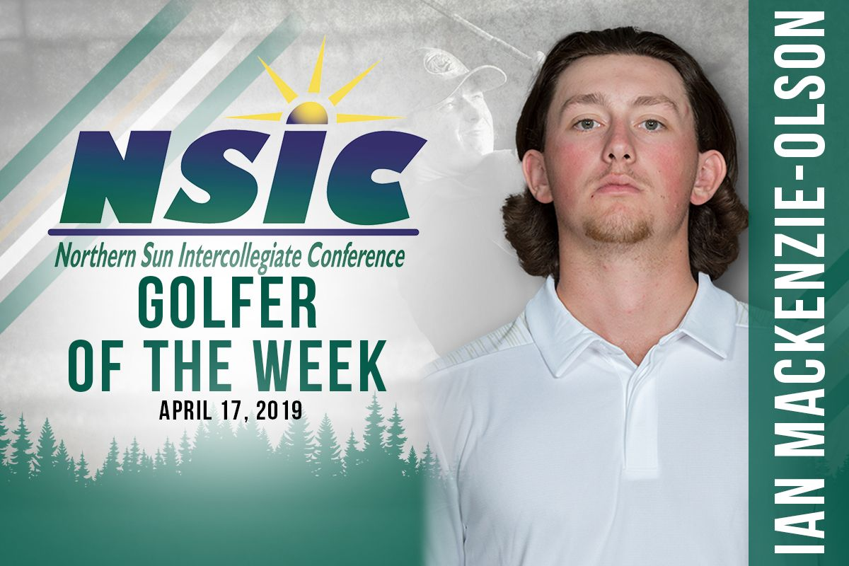 Mackenzie-Olson tabbed as NSIC Golfer of the Week