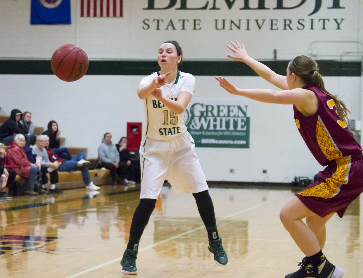Sheley's double-double not enough in 59-43 loss to Wolves