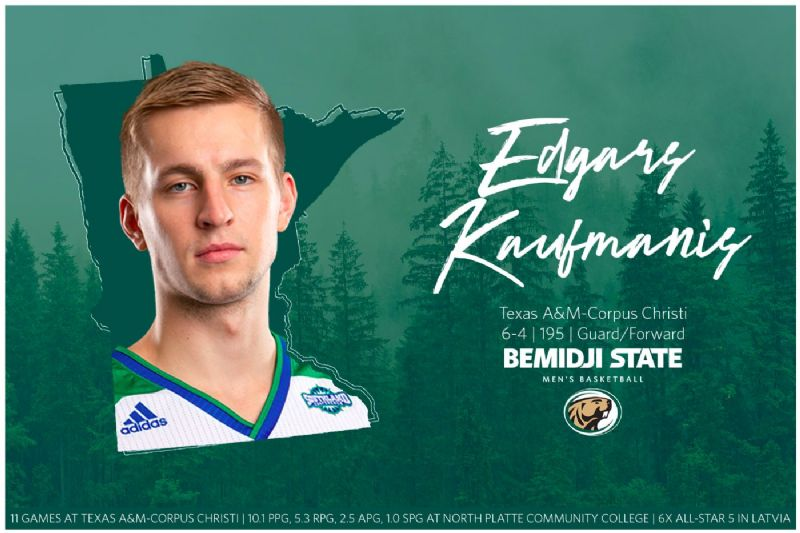 Latvian guard Edgars Kaufmanis signs with Beaver Men's Basketball