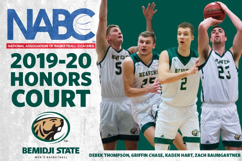 Four Beaver Men's Basketball student-athletes named to NABC Honors Court