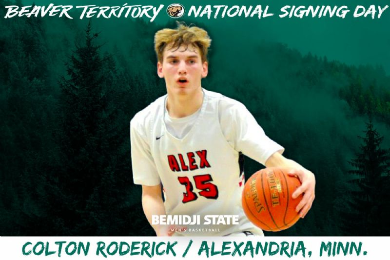 Alexandria guard Colton Roderick signs NLI to join Beaver Men's Basketball