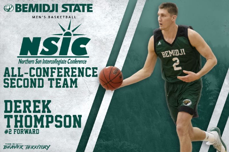 Thompson selected to NSIC All-Conference Second Team