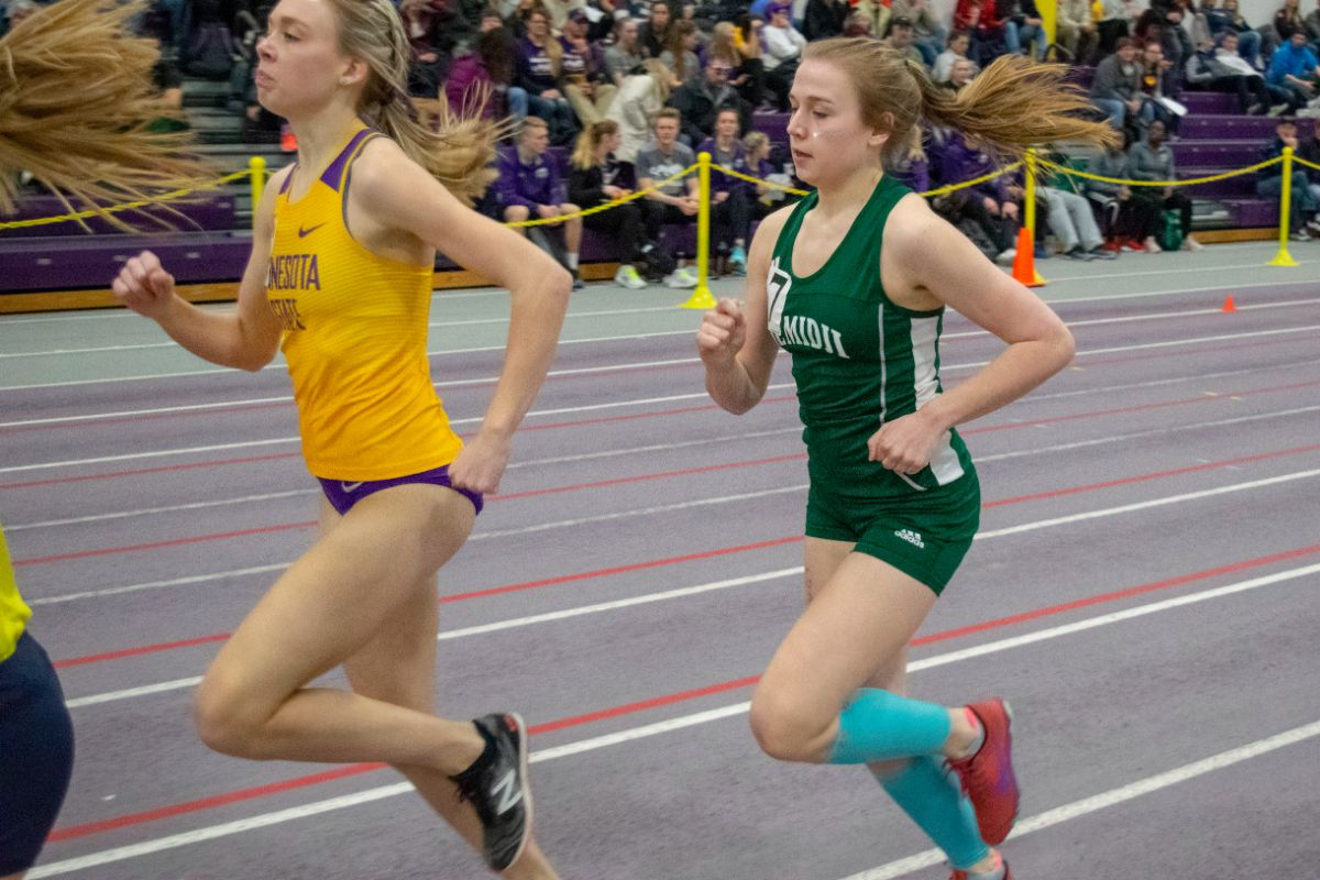 Track and Field takes second behind program record at Dakota Classic