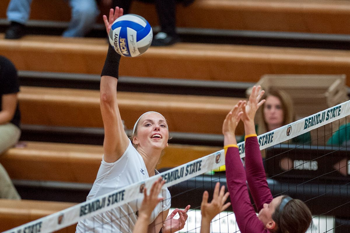 Yost moves into second on BSU's all-time career kills list