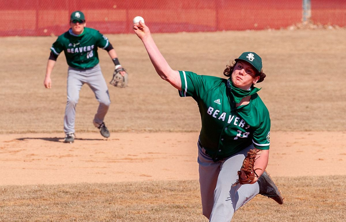 Complete game, relief pitching give Beaver Baseball sweep over Marauders