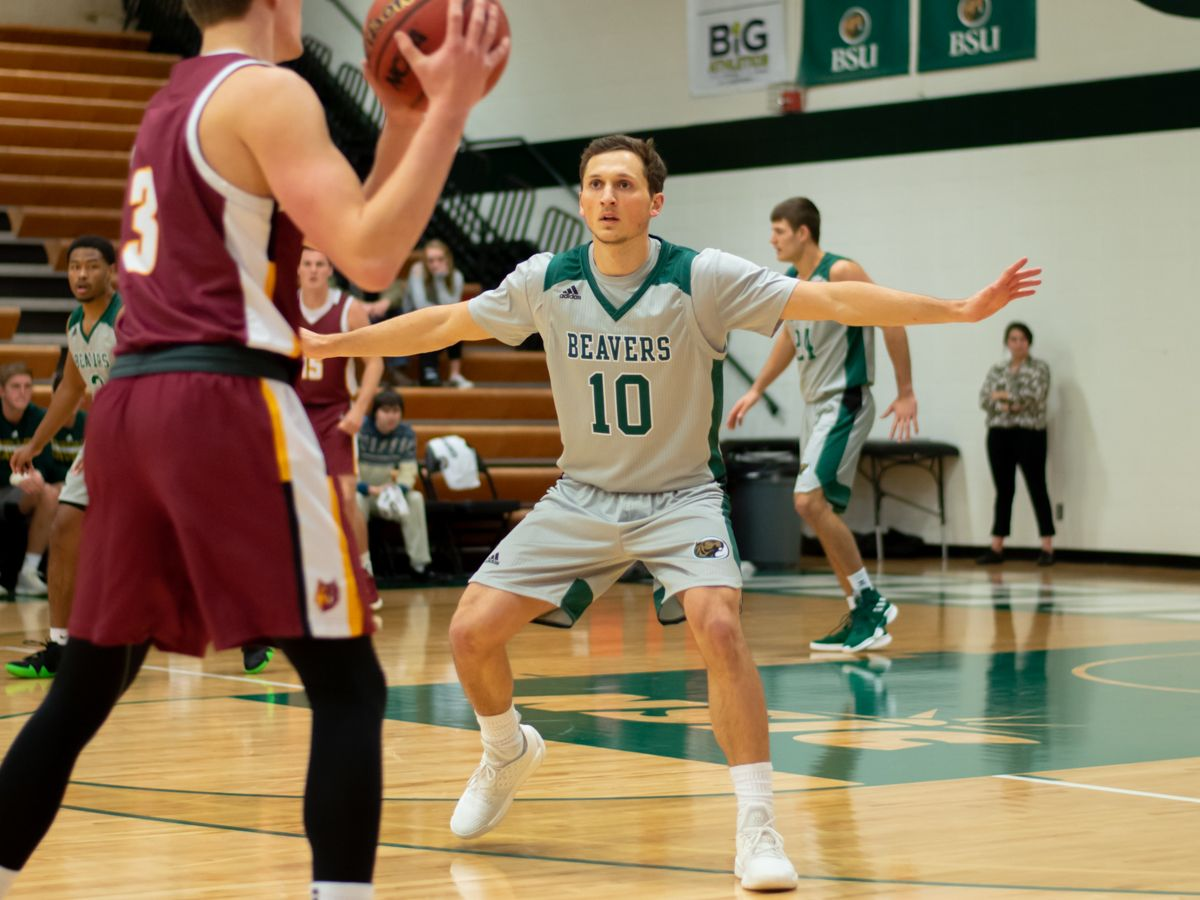 Second half shooting spell leads to 75-59 loss at Wayne State