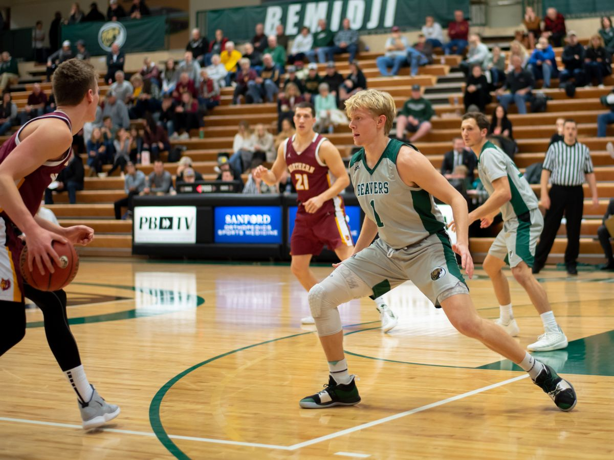 Beaver Men's Basketball beaten by Vikings in weekend finale, 74-60