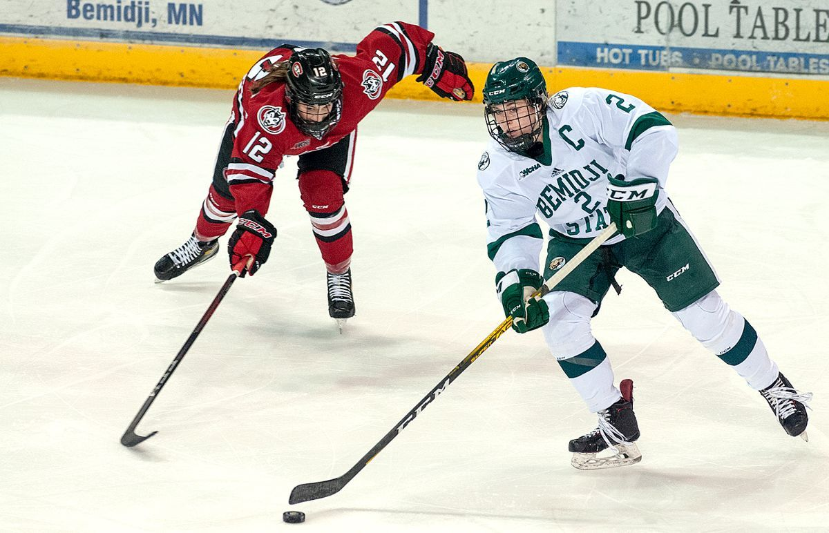 Mak Langei named WCHA Student-Athlete of the Year