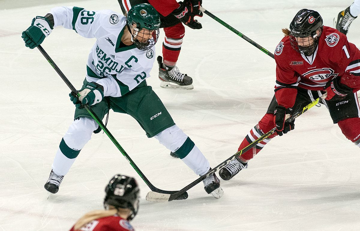 St. Cloud State edges Bemidji State in overtime, 3-2