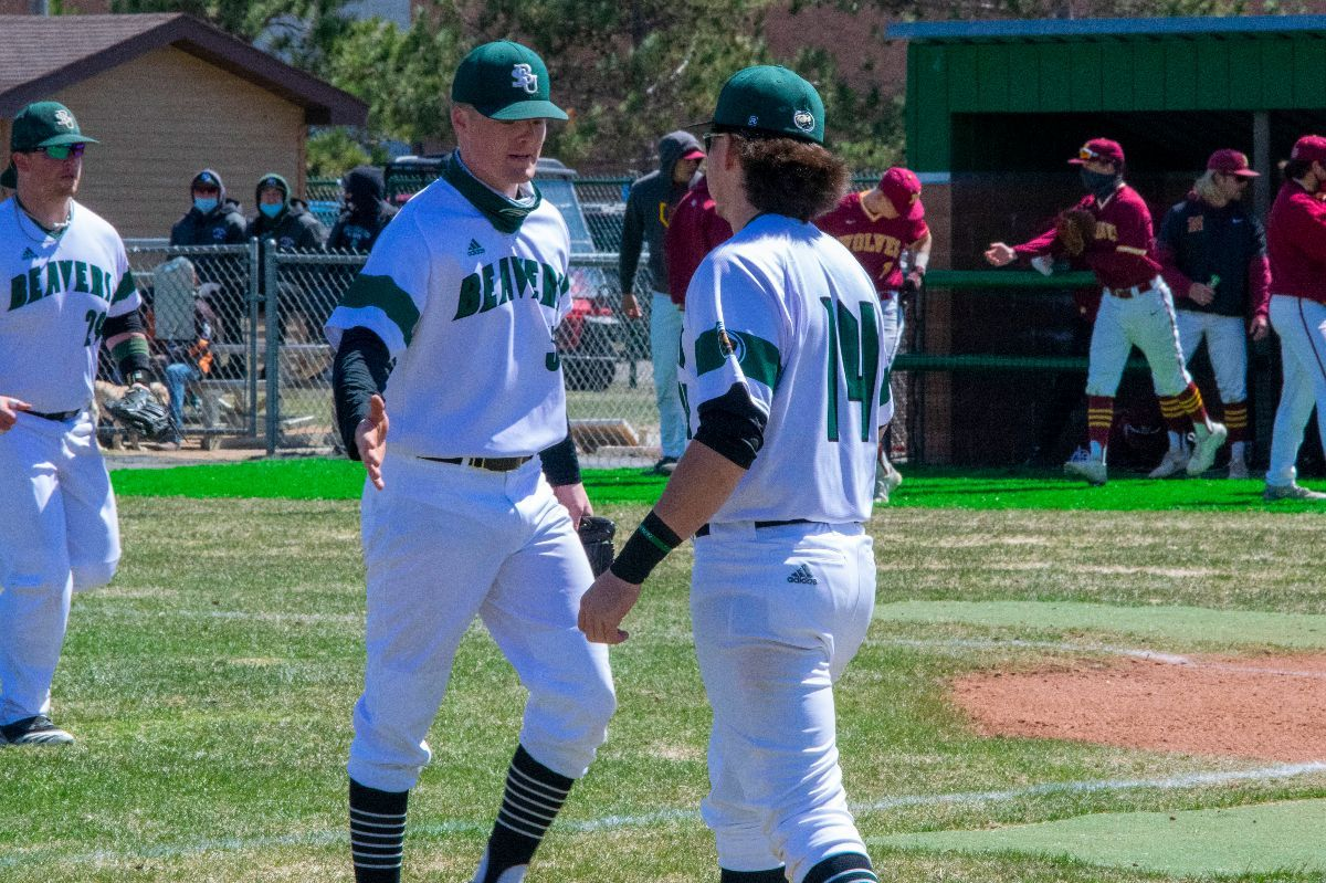Baseball splits on opening day of series against Northern State