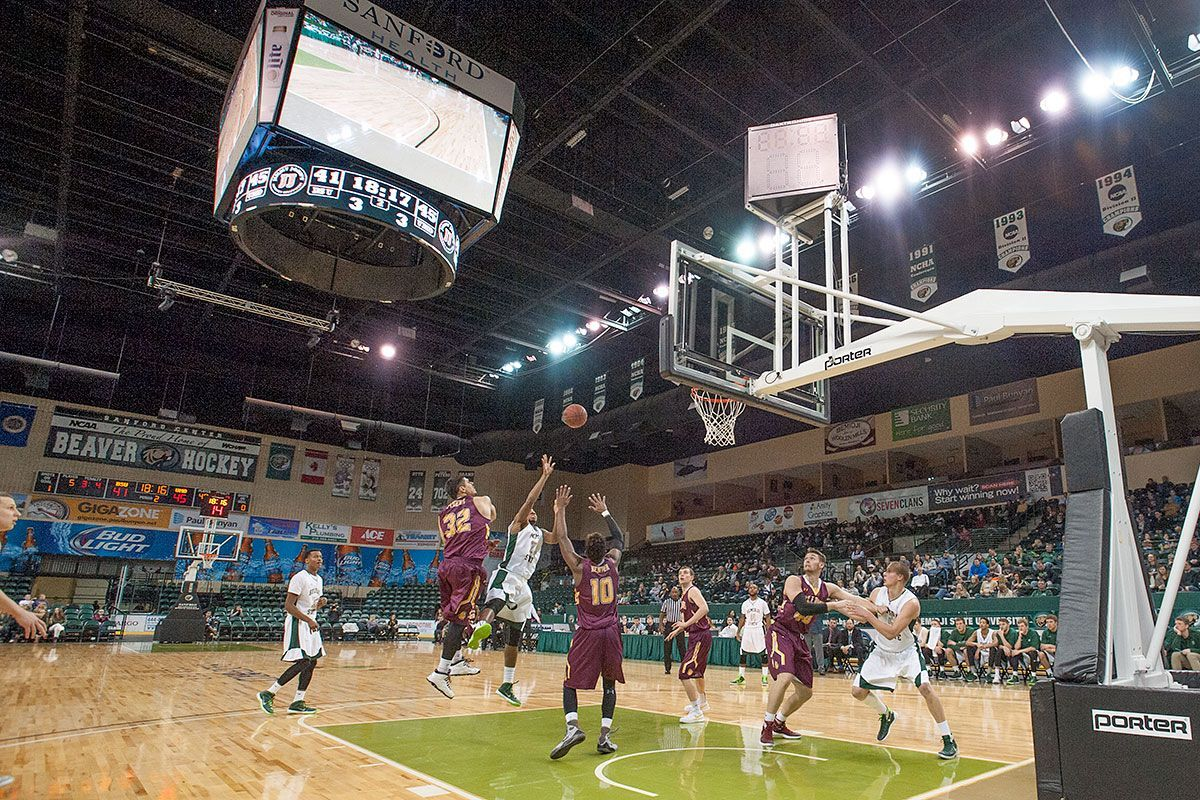 Bemidji State Basketball at Sanford Center offers excitement for Beavers and fans
