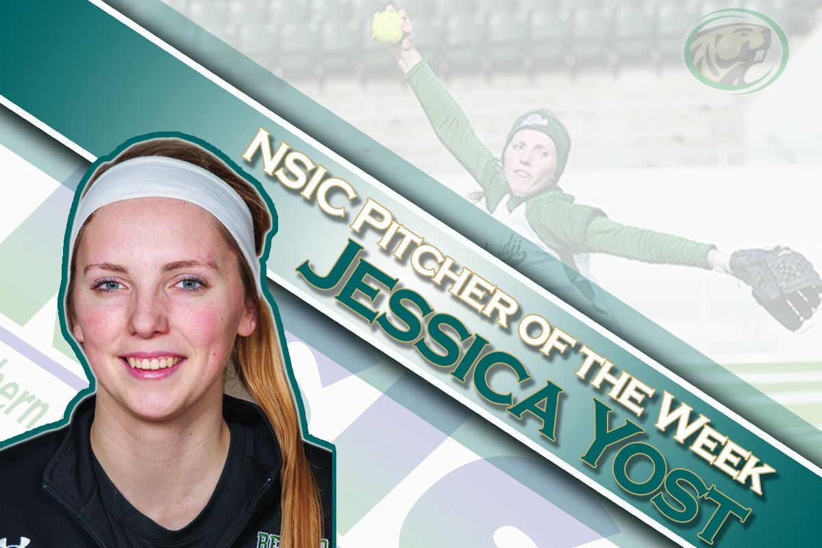 Yost named NSIC Pitcher of the Week
