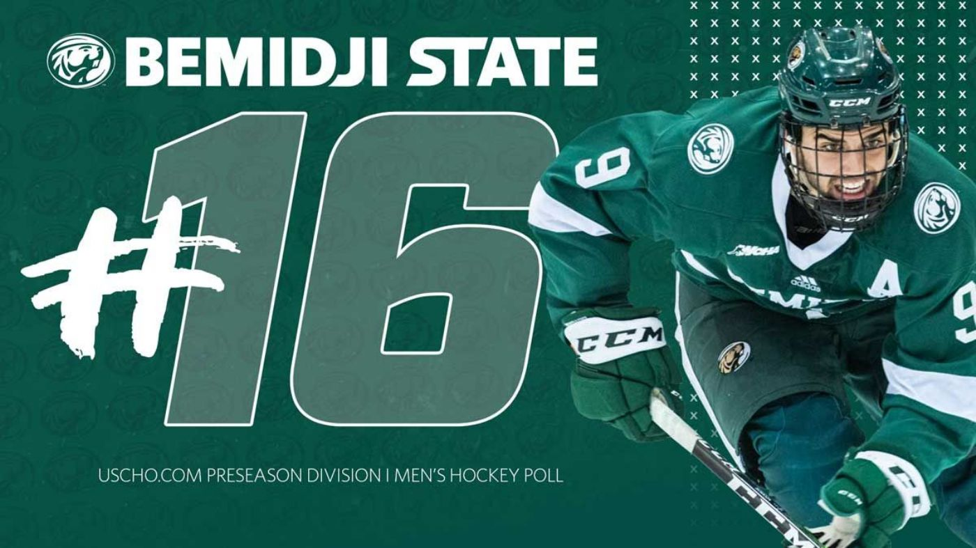 Bemidji State opens 2020-21 campaign at No. 16 in USCHO.com poll