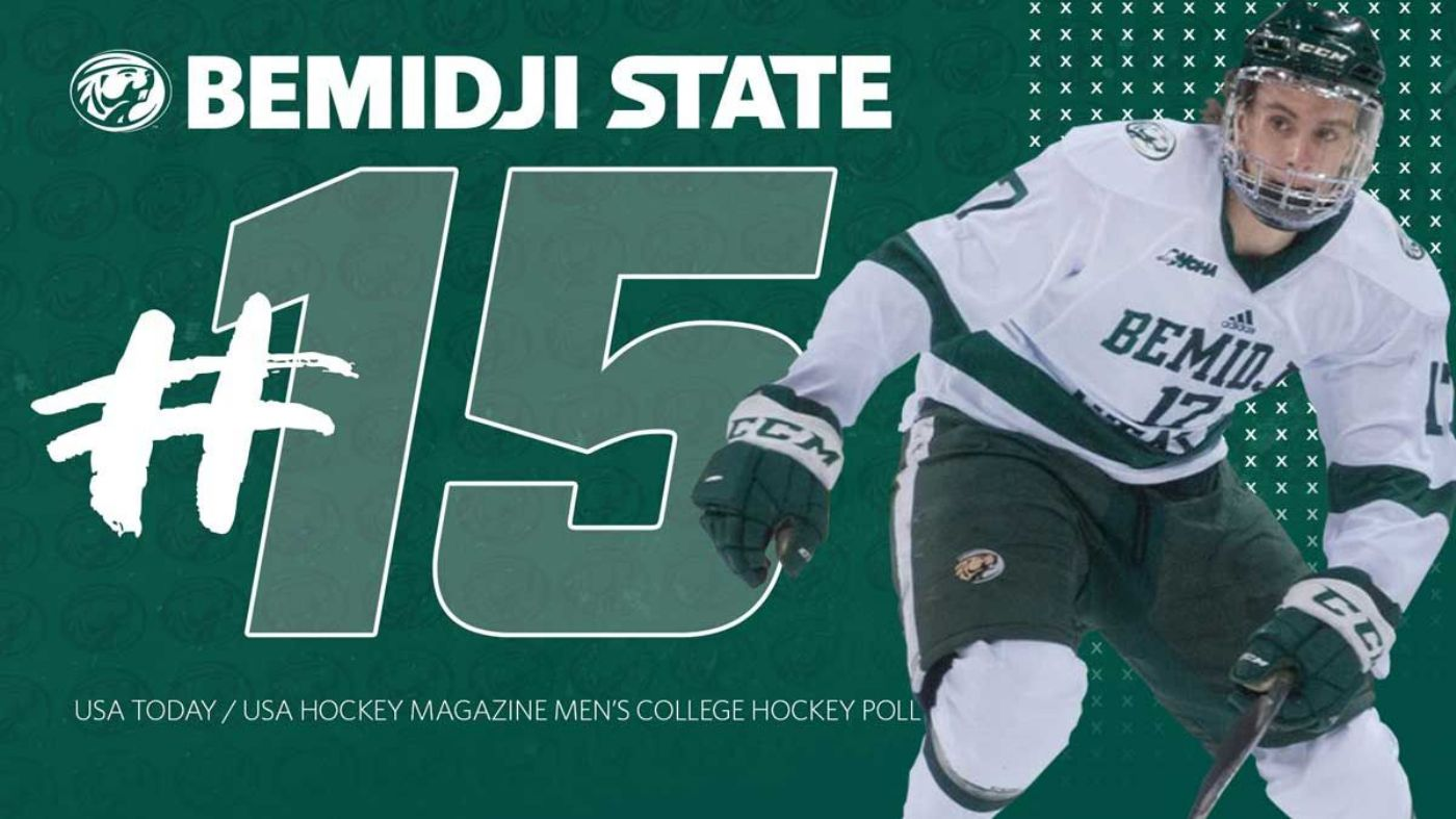BSU men's hockey tabbed No. 15 in preseason USA Today/USA Hockey Magazine Poll