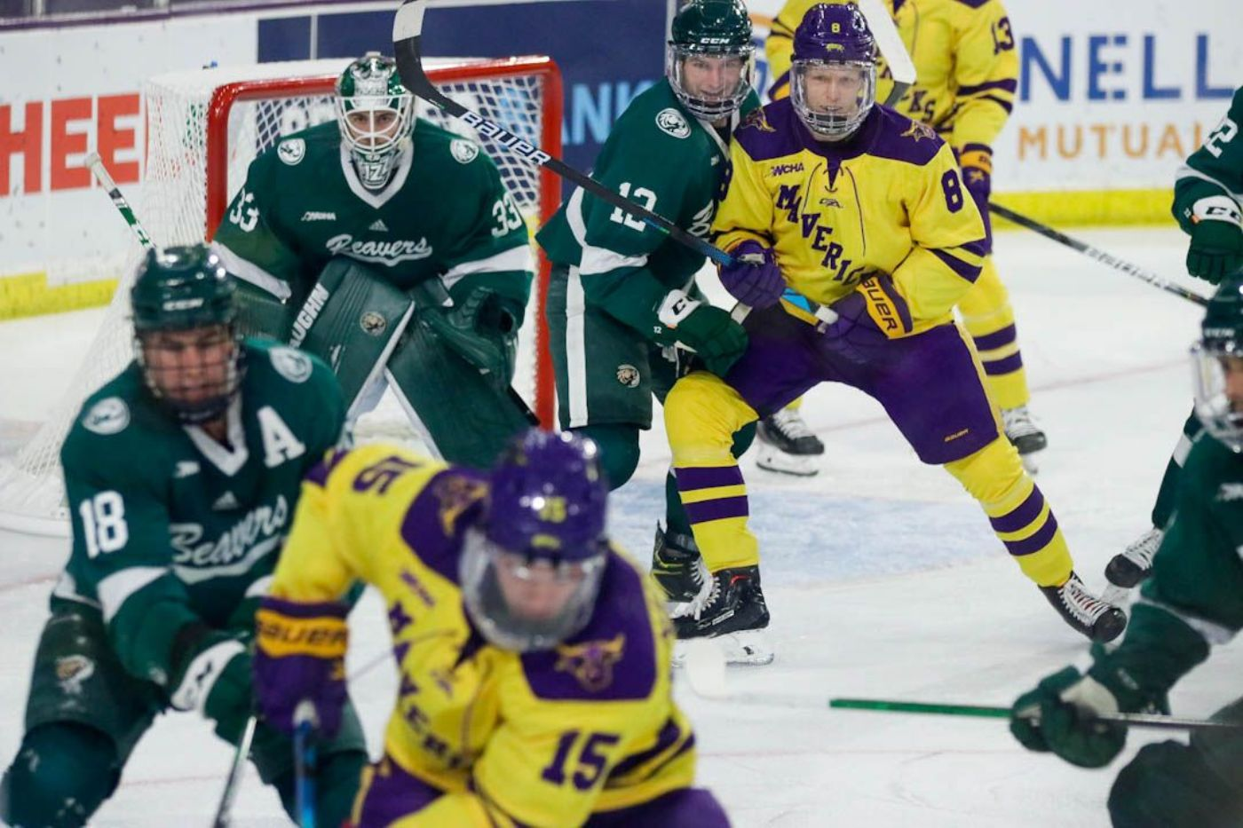 Beavers play No. 5 Minnesota State to 1-1 tie, MSU takes shootout in fifth round