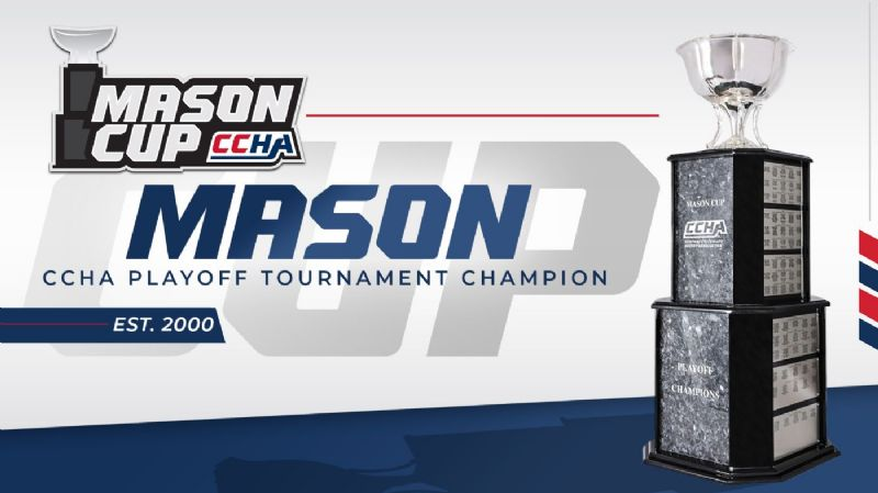 Famed Mason Cup to be awarded to CCHA Playoff Champion