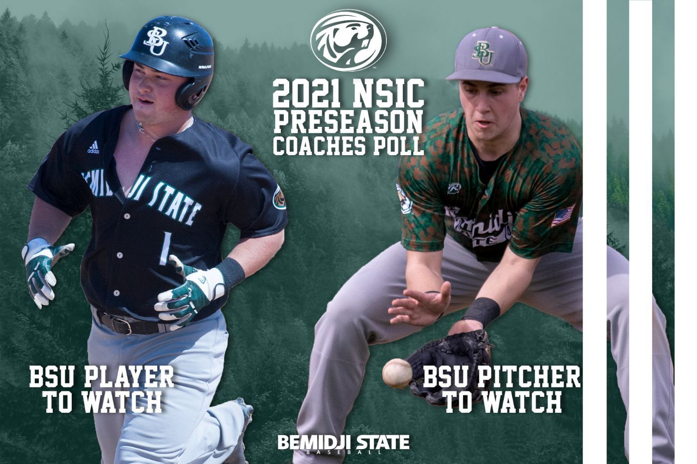 Boser and Lake named BSU's Players to Watch in NSIC Preseason Coaches' Poll