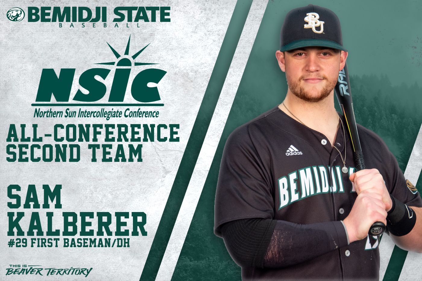 Kalberer earns nod to 2021 NSIC Baseball All-Conference team