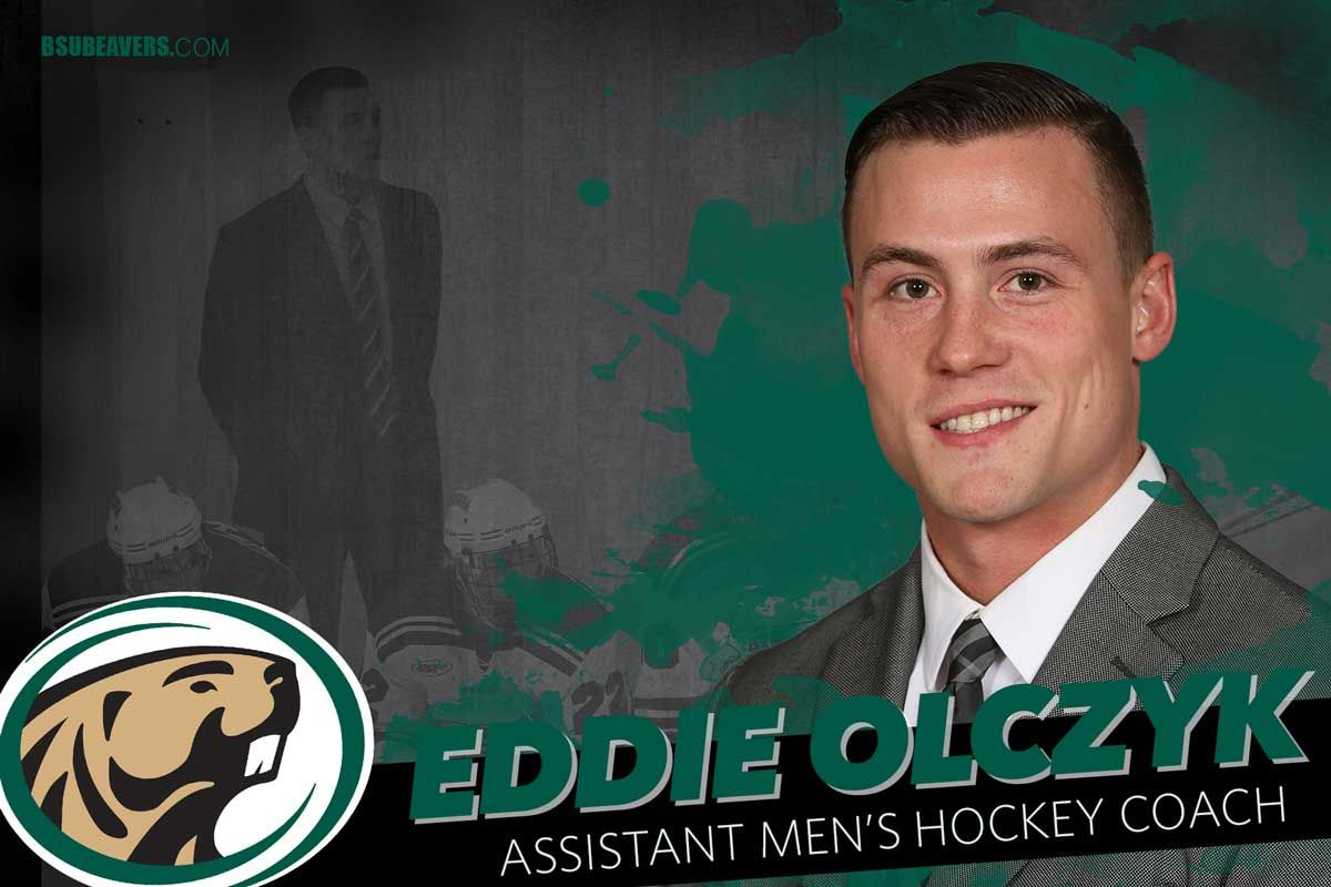 Eddie Olczyk named to men's hockey assistant coach position