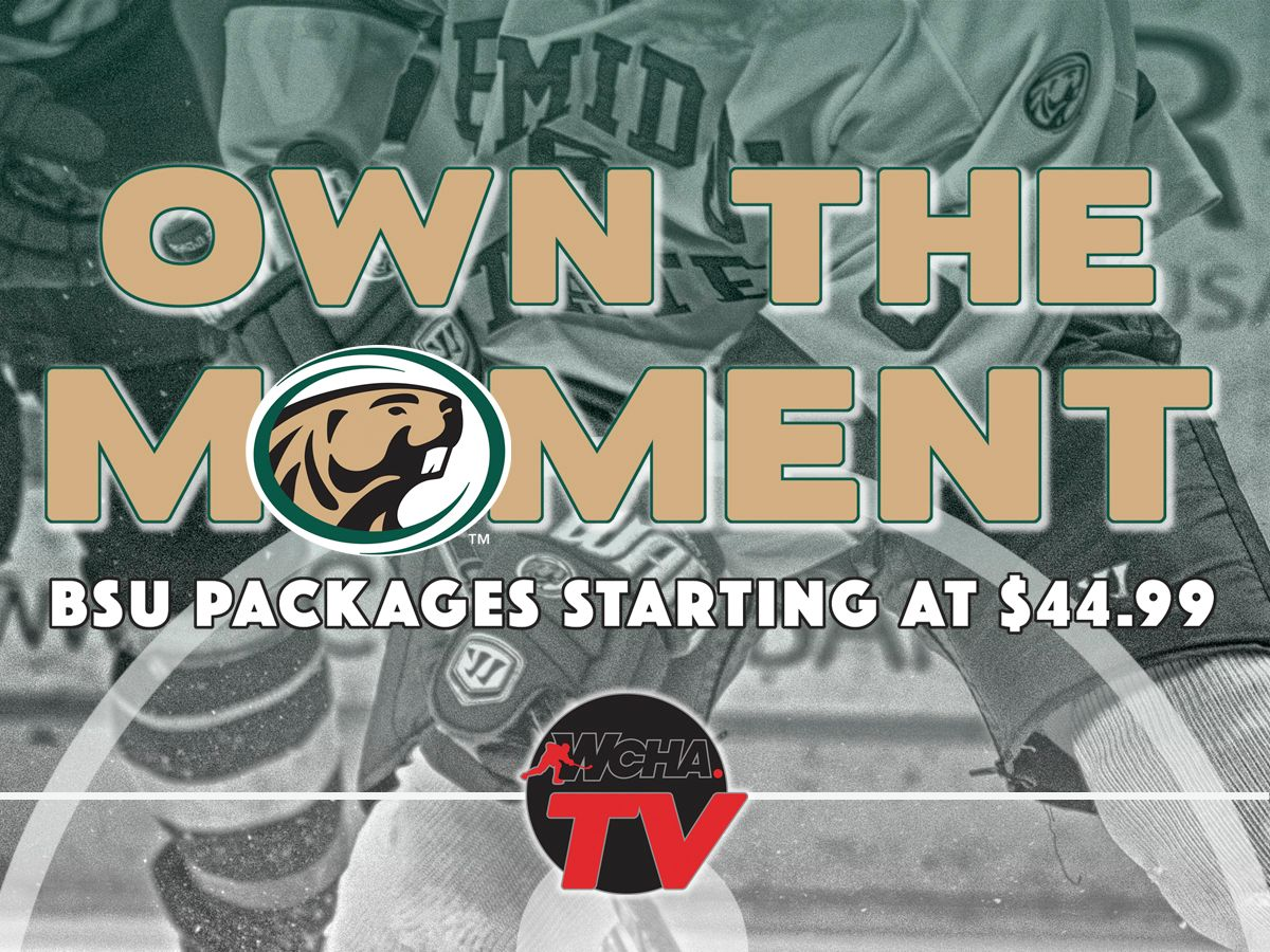 WCHA.tv webstreaming packages for 2016-17 are on sale now