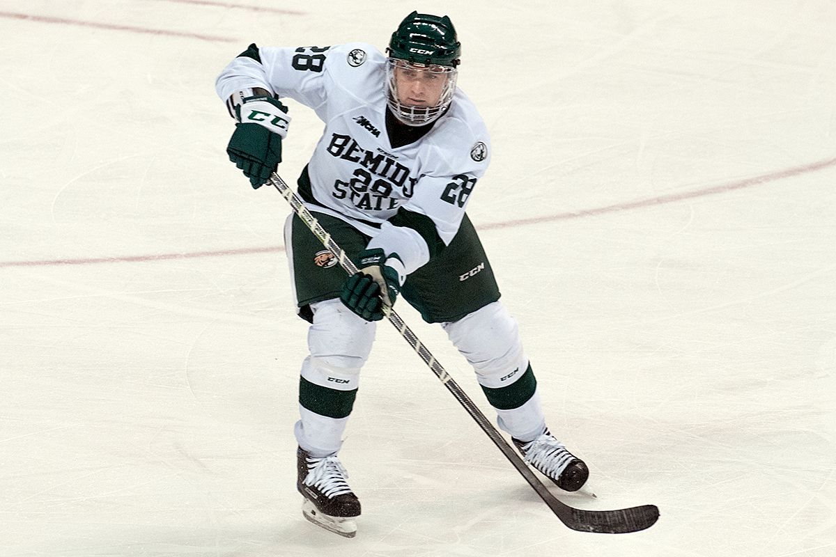 Serratore and Beauvais preview BSU's upcoming WCHA series at Northern Michigan